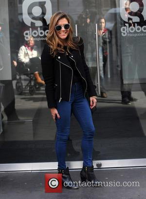 Zoe Hardman - Zoe Hardman outside Global House - London, United Kingdom - Tuesday 24th March 2015