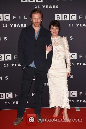 Damian Lewis and Helen McCrory - BBC Film's 25th anniversary reception held at BBC Radio 1 - Arrivals - London,...