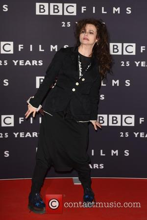 Helena Bonham Carter - A variety of stars were snapped as they arrived at the BBC Films 25th Anniversary Reception...