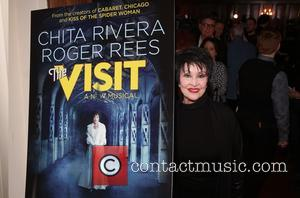 Chita Rivera - 'The Visit' photocall at the Lyceum Theatre at Lyceum Theatre,, Lyceum Theatre - New York, United States...