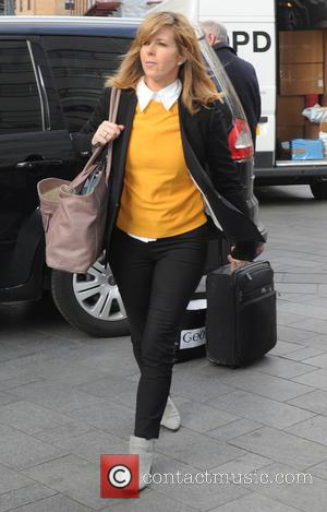 Kate Garraway - Kate Garraway out and about in London - London, United Kingdom - Wednesday 25th March 2015