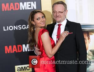 Allegra Riggio and Jared Harris