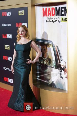 Christina Hendricks - Celebirites attend the AMC celebration of the final 7 episodes of 'Mad Men' with the Black &...