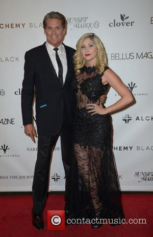 David Hasselhoff and Taylor-Ann Hasselhoff - Taylor-Ann Hasselhoff: Bellus Magazine Launch Party - Arrivals at The Blind Dragon West Hollywood...