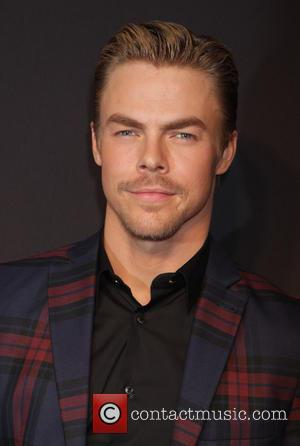 Derek Hough - 2015 New York Spring Spectacular Opening Night at Radio City Music Hall - Arrivals at Radio City...