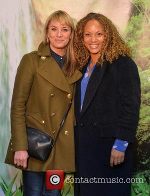 Angela Griffin and Tamsin Outhwaite