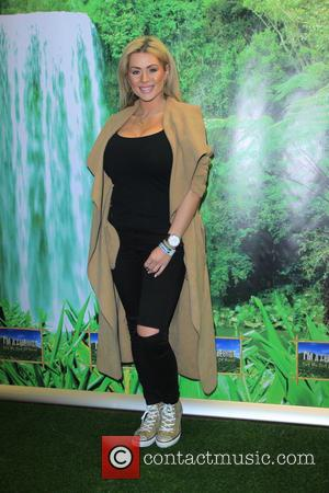Nicola McLean - Thorpe Park: I'm A Celebrity Get Me Out of Here! Maze - launch party - Surrey, United...