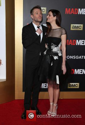 Chris Hardwick and Lydia Hearst - A host of stars were photogrpahed as they attended the AMC Celebration of The...