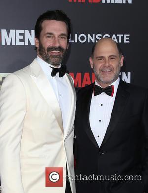 Jon Hamm and Matthew Weiner