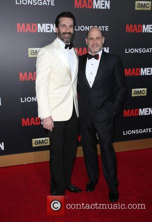 Jon Hamm and Matthew Weiner - A host of stars were photogrpahed as they attended the AMC Celebration of The...