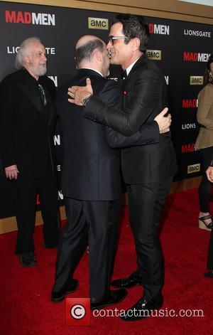 Matthew Weiner and Ty Burrell