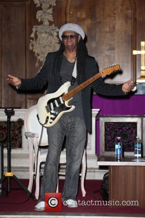 Nile Rodgers - Nile Rodgers attends Advertising Week Europe 2015 at St James's Church at St James's Church - London,...