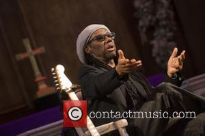 Nile Rodgers - Guitarist Nile Rodgers attends a talk for Advertising Week Europe: Spotify in Conversation with... in St.James's Church....