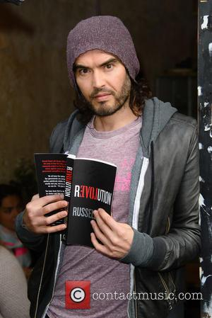Russell Brand - Russell Brand opens the Trew Era Cafe in London. The Trew Era Cafe is a social enterprise...