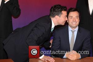 Jimmy Fallon - The Tonight Show's Jimmy Fallon attends a photocall as Madame Tussauds unveil a quintet of Jimmy Fallon...