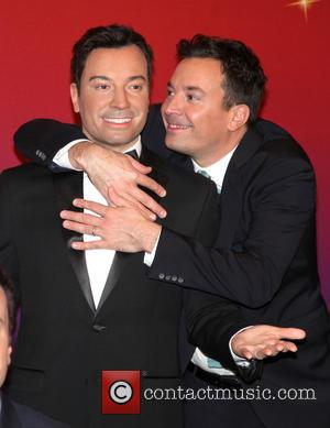 Watch Jimmy Fallon Sing 'Barbara Ann' With Five Waxwork Jimmy Fallons