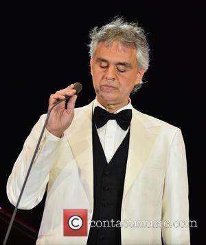 Andrea Bocelli - Hard Rock Rising Miami Beach centennial concert - Miami Beach, Florida, United States - Friday 27th March...