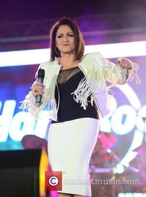 Gloria Estefan - Hard Rock Rising Miami Beach centennial concert - Miami Beach, Florida, United States - Friday 27th March...