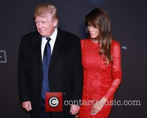 Donald Trump and Melania Trump - Opening night for The New York Spring Spectacular at Radio City Music Hall -...