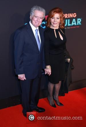Regis Philbin and Joy Philbin - Opening night for The New York Spring Spectacular at Radio City Music Hall -...