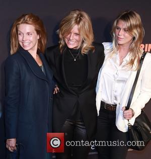 Theodora Richards, Patti Hansen and Alexandra Richards