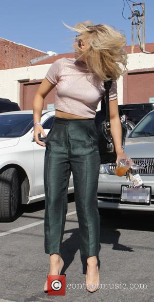 Emma Slater - Celebrities at the 'Dancing With The Star's rehearsal studio in Hollywood - Los Angeles, California, United States...