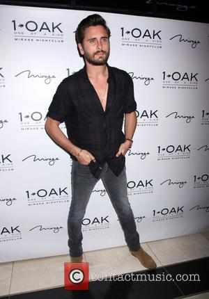 Scott Disick - Scott Disick hosts at 1 Oak Nightclub inside Mirage Hotel & Casino - Las Vegas, Nevada, United...
