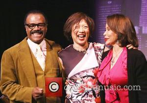 Ted Lange, Alice Tuan and Freda Payne