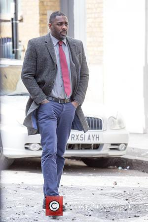 British actor Idris Elba who is hotly tipped to be the next James Bond, was spotted as he filmed in...