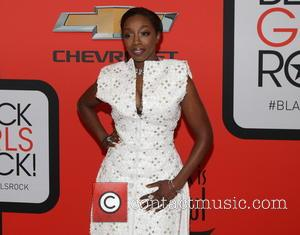 Estelle - A variety of stars were photographed as they arrived to the 'Black Girls Rock!' 2015 event which was...