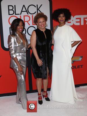 Regina King, Debra Lee and Tracee Ellis Ross