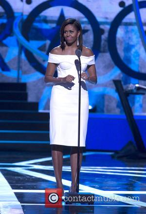 Michelle Obama - A variety of stars were snapped at BET's 'Black Girls Rock!' event which was sponsored by Chevrolet...