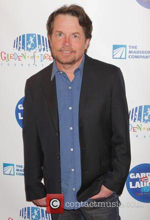 Michael J Fox - 2015 Garden Of Laughs Comedy Benefit at the Club Bar and Grill at Madison Square Garden...