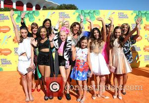Abby Lee Miller and Dance Moms Cast - A host of stars were snapped as they arrived for Nickelodeon's 28th...