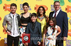 Jack Griffo, Diego Velazquez, Kira Kosarin, Addison Riecke, Rosa Blasi and Chris Tallman - A host of stars were snapped...