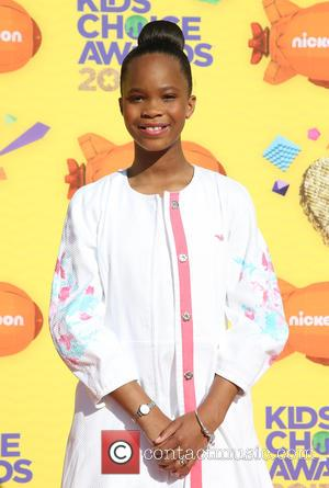 Quvenzhane Wallis - A host of stars were snapped as they arrived for Nickelodeon's 28th Annual Kid's Choice Awards 2015...