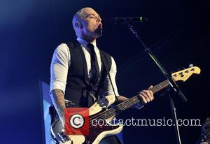 Matt Willis - Shots of British super group made up of McFly and Busted 'McBusted' as they performed live in...