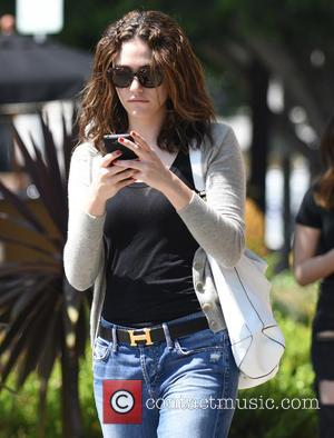 Emmy Rossum - Emmy Rossum sports a Hermes belt as she leaves Alfred Coffee & Kitchen after lunching with friends...