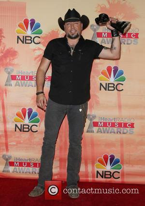 Jason Aldean - 2nd Annual iHeartRadio Music Awards_Press Room at Shrine Auditorium and Expo Hall - Los Angeles, California, United...