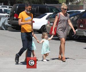 Busy Philipps, Marc Silverstein, Birdie Leigh Silverstein and Cricket Pearl Silverstein - Busy Philipps with husband Marc Silverstein with their...