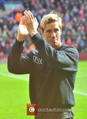 Fernando Torres - Steven Gerrard held a fundraising match at Anfield in aid of Alder Hey hospital,Claire House and positive...