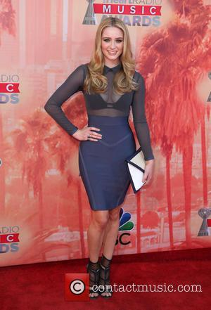 Greer Grammer - A variety of stars were photographed as they attended the 2nd Annual iHeartRadio Music Awards which were...