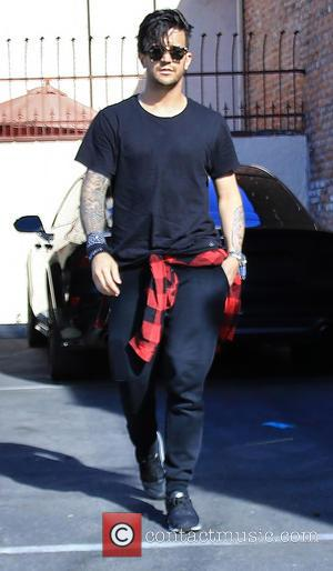 Mark Ballas - Mark Ballas ends another week of rehearsing at the Dancing With The Star's studio at Dancing With...