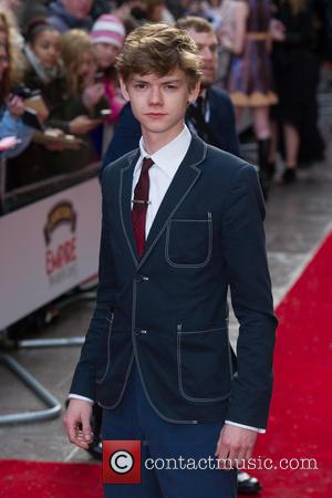 Thomas Brodie Sangster - Jameson Empire Film Awards 2015 at Grosvenor House - Arrivals at Grosvenor House Hotel, Jameson Empire...