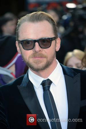 Simon Pegg: 'I Really Like Hanging Out With Tom Cruise'