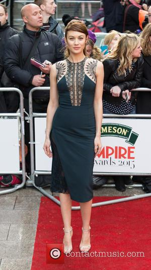 Olga Kurylenko - A host of stars were snapped on the red carpet as they arrived for the Jameson Empire...