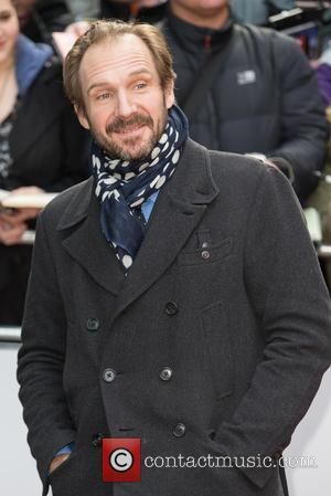 Ralph Fiennes - A host of stars were snapped on the red carpet as they arrived for the Jameson Empire...