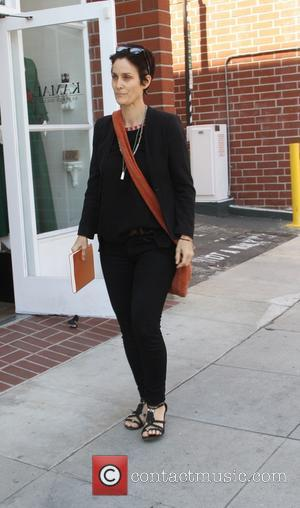 Carrie-Anne Moss - Carrie-Anne Moss goes shopping in Beverly Hills - Los Angeles, United States - Monday 30th March 2015