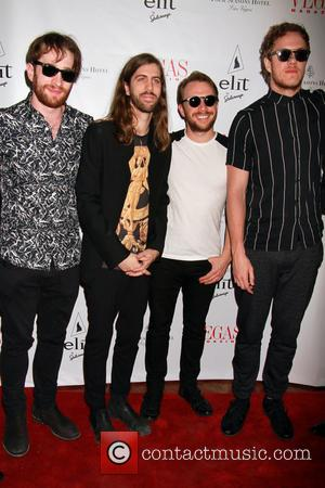 Photographs from Vegas Magazine celebrating their spring issue with the American rock band Imagine Dragons. The event was held at...