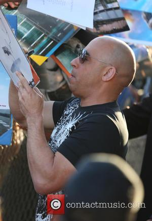 Shots of American actor Vin Diesel who has starred in the Fast and Furious movie franchise as well as being...